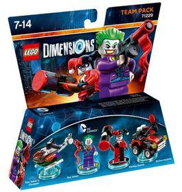 Lego Dimensions 1: Team: Dc-Joker & Harley