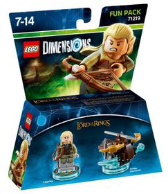 Lego Dimensions 1: Fun: Lord Of The Rings - Legolas