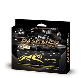 Apacer Black Panther 8GB DDR4-2400MHz DIMM Desktop Memory
