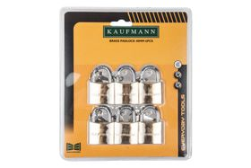 Kaufmann - 6 Piece 40mm Brass Lock Set