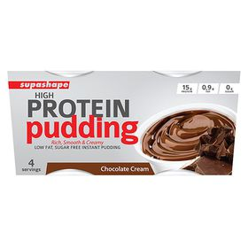 Supashape High Protein Pudding - Chocolate Cream