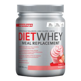 Supashape Diet Whey Meal Replacement 400g - Strawberry
