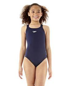 Girls Speedo Endurance Medalist Swimsuit 1 Piece