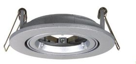 Ellies - GU10 Twist & Lock Down-light Fitting - Silver