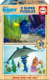 Educa Finding Dory Super Puzzles - 2 x 25 Pieces