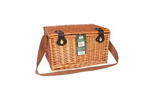 Bushtec - Willow Rattan Picnic Basket 4 Person