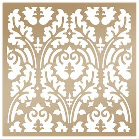 Couture Creation Anna Griffin 8 x 8 Stencil - Botanical Damask