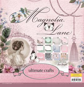 Ultimate Crafts Magnolia Lane 12 x 12 Paper Pad