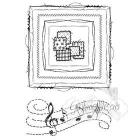 49 and Market Stamp Set - Gabi's Square Stitch