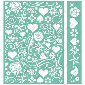 Cuttlebug Emboss 5x7 & Border Anna Griffin - Smitten