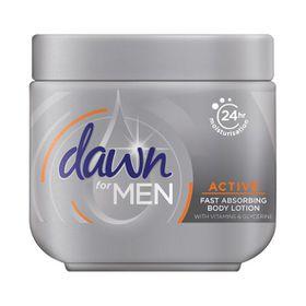Dawn For Men Active Body Cream 250ml