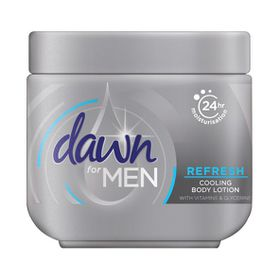 Dawn For Men Refresh Body Cream 250ml