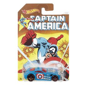 Hot Wheels Marvel Captain America 3 Deco Car - Assortment