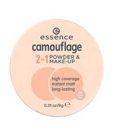 Essence Camouflage 2-In-1 Powder & Make-up - 20