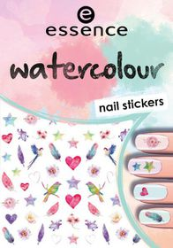 Essence Watercolour Nail Stickers - 07