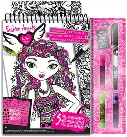 Fashion Angels Zendoodle Illustration
