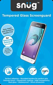 Snug Tempered Glass Screenguard for Samsung Galaxy J1 2016