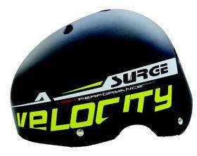 Surge Rival Helmet - Black & Yellow -Medium