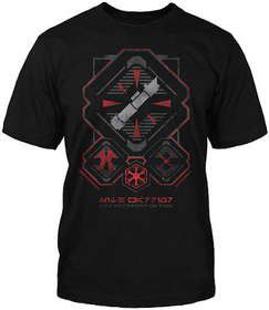Star Wars Sith Warrior Class T-Shirt (Medium)