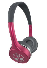 Zagg iFrogz Toxix Plus Headphones with Mic - Rose Pink