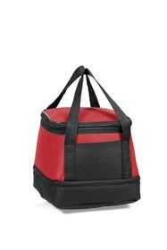 Creative Travel Munch Cooler With Base Compartment - Red
