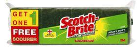 Scotchbrite - No.35 Heavy Duty Scourers - 3 Plus 1 Free