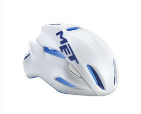 MET Manta Helmet - White / Blue- Size: Medium