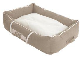 Rogz - Medium Lounge Pod Large Dog Bed - Stone