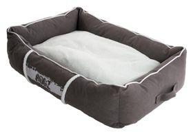 Rogz - Small Lounge Pod Large Dog Bed - Grey