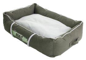 Rogz - Small Lounge Pod Large Dog Bed - Olive