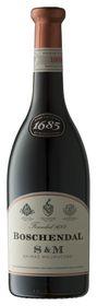Boschendal Wines - 1685 S & M Shiraz - 6 x 750ml