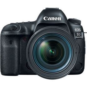 Canon 5D Mark IV DSLR with 24-70mm f/4L Lens