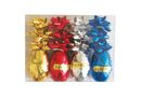 Ribbon Poly with Bows - Pack of 4 Mixed