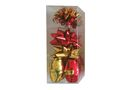 Ribbon & Bow Poly Mix Pack - Shiny Red & Gold