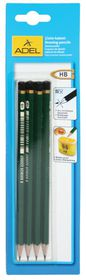 Adel HB Drawing Pencils - Blister of 4