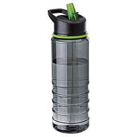 Eco - 750ml Triton Bottle With Straw - Green
