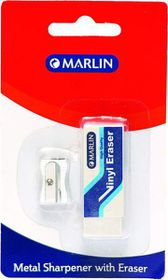 Marlin Metal Sharpener and Vinyl Eraser