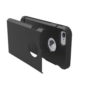 Tuff-Luv Twin Armour TPU Case for Apple iPhone 7 - Black