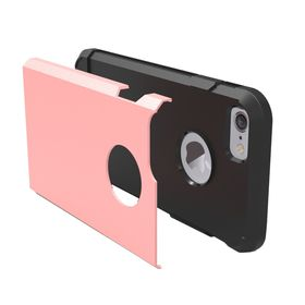 Tuff-Luv Twin Armour TPU Case for Apple iPhone 7 - Rose Gold