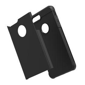 Tuff-Luv Twin Armour TPU Case for Apple iPhone 7 Plusÿ - Black
