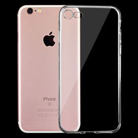 Tuff-Luv Minimalist Ultra Thin Transparent TPU Case for Apple iPhone 7 - Clear