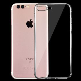 Tuff-Luv Minimalist Ultra Thin Transparent TPU Case for Apple iPhone 7Plus - Clear