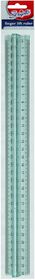 Scripto 30cm Finger Lift Ruler - Blue