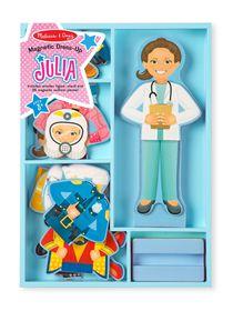 Melissa And Doug Julia Magnetic Dress-Up