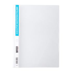 Meeco A4 Executive Quotation Folder - Clear