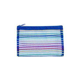 Meeco Mesh Small (21cm) Pencil Bag - Blue