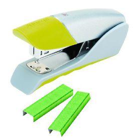 Rexel Gazelle Half Strip Stapler - Green