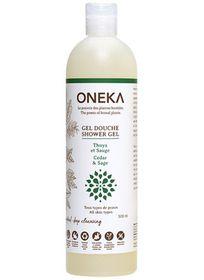 Oneka Cedar And Sage Invigorating Shower Gel - 500ml