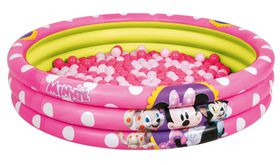 Bestway - Minnie Mouse Pit Pool - Pink