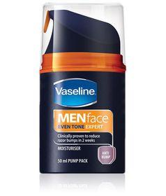 Vaseline For Men Antibump Face Moisturiser - 50ml